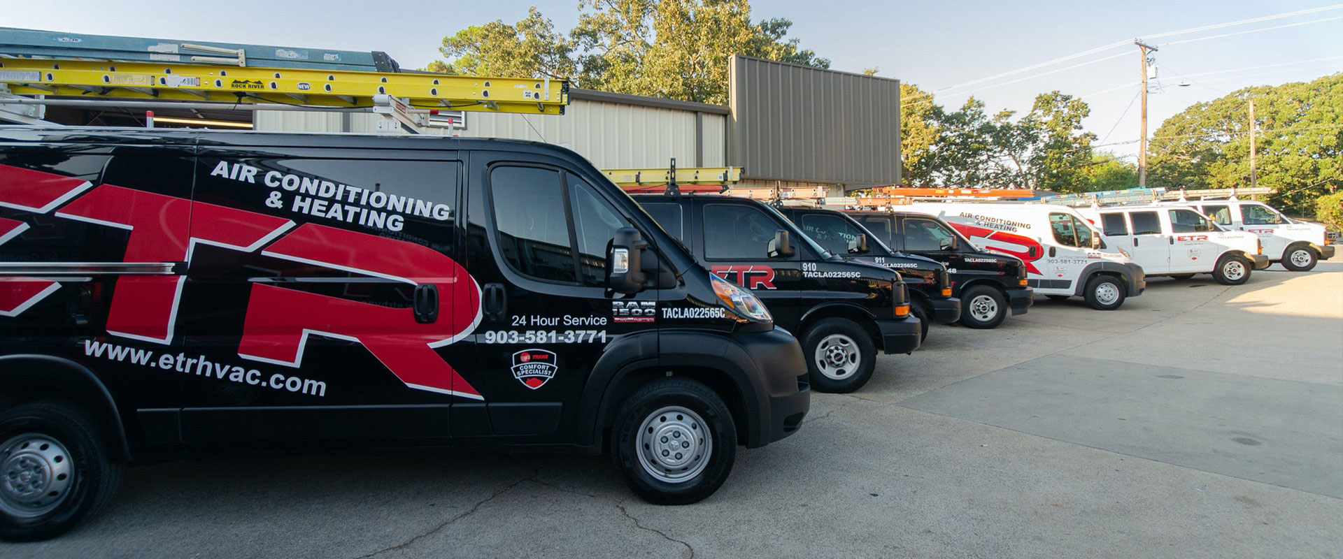 Fleet from ETR Air Conditioning and Heating from Longview Texas