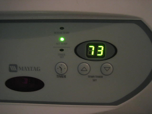 Observe the thermostat closely and take steps to get it to function correctly