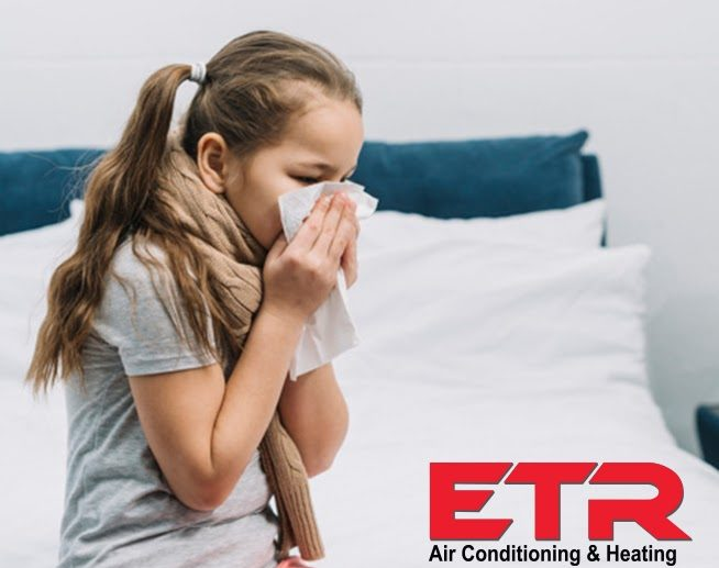 Ways to Reduce Home Allergens tips from ETR company from Tyler Texas