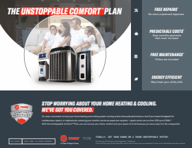 the unstopable comfort air conditioner maintenance plan