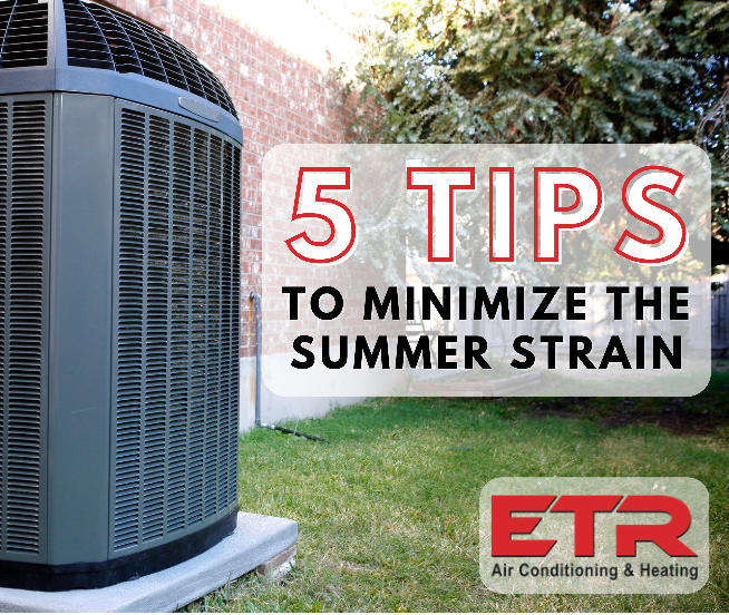 5 tips to minimize the summer strain